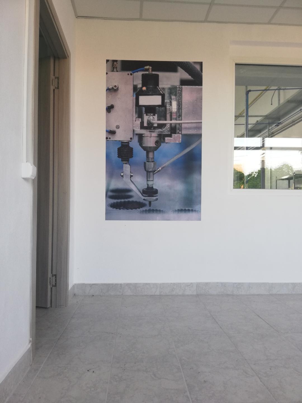 Imprimare perete – Laser cut