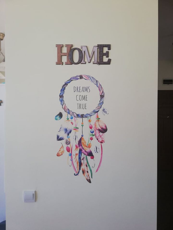 Dreamcatcher – imprimare pe perete