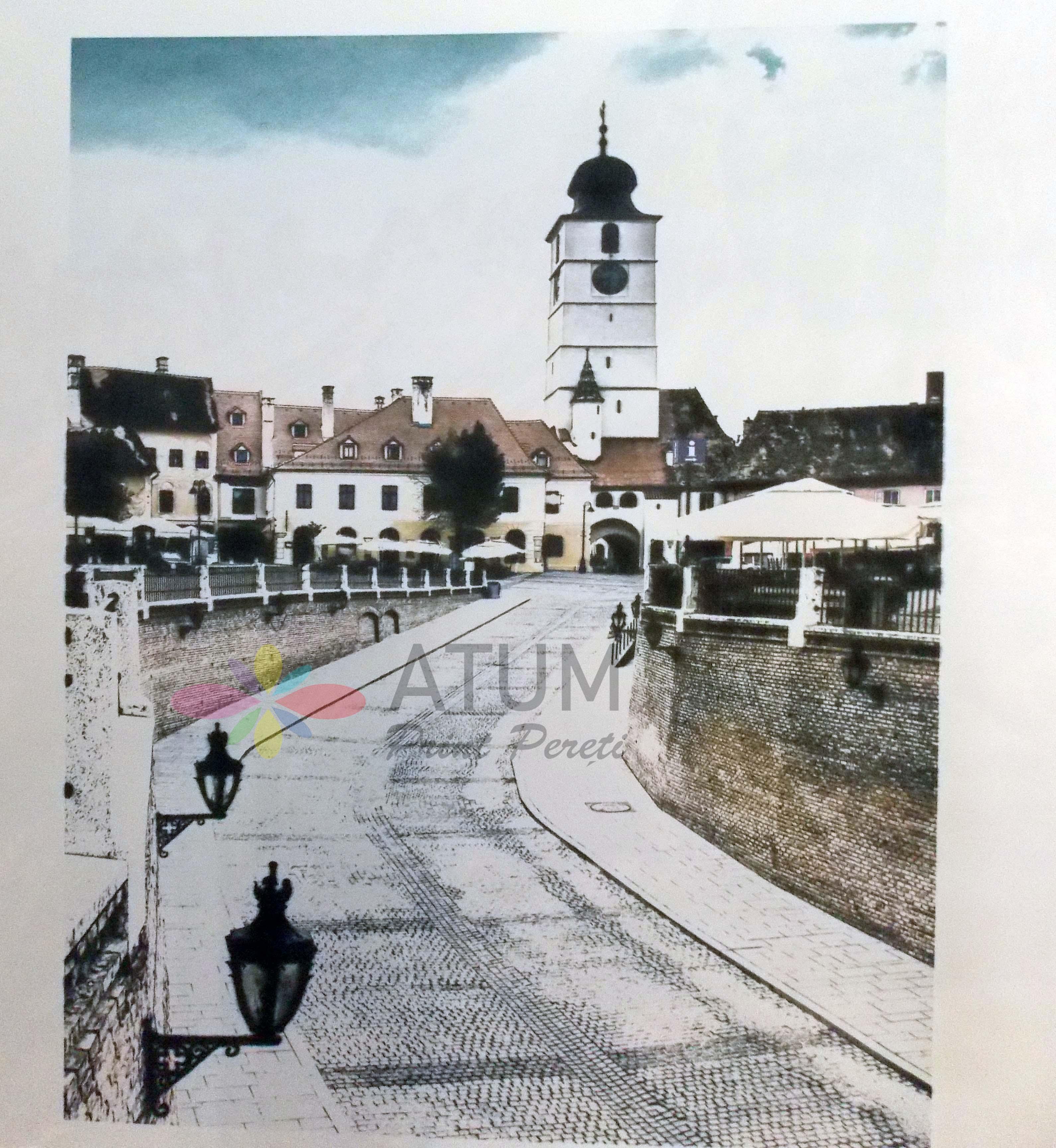 Sibiu Small Square – imprimare pe perete