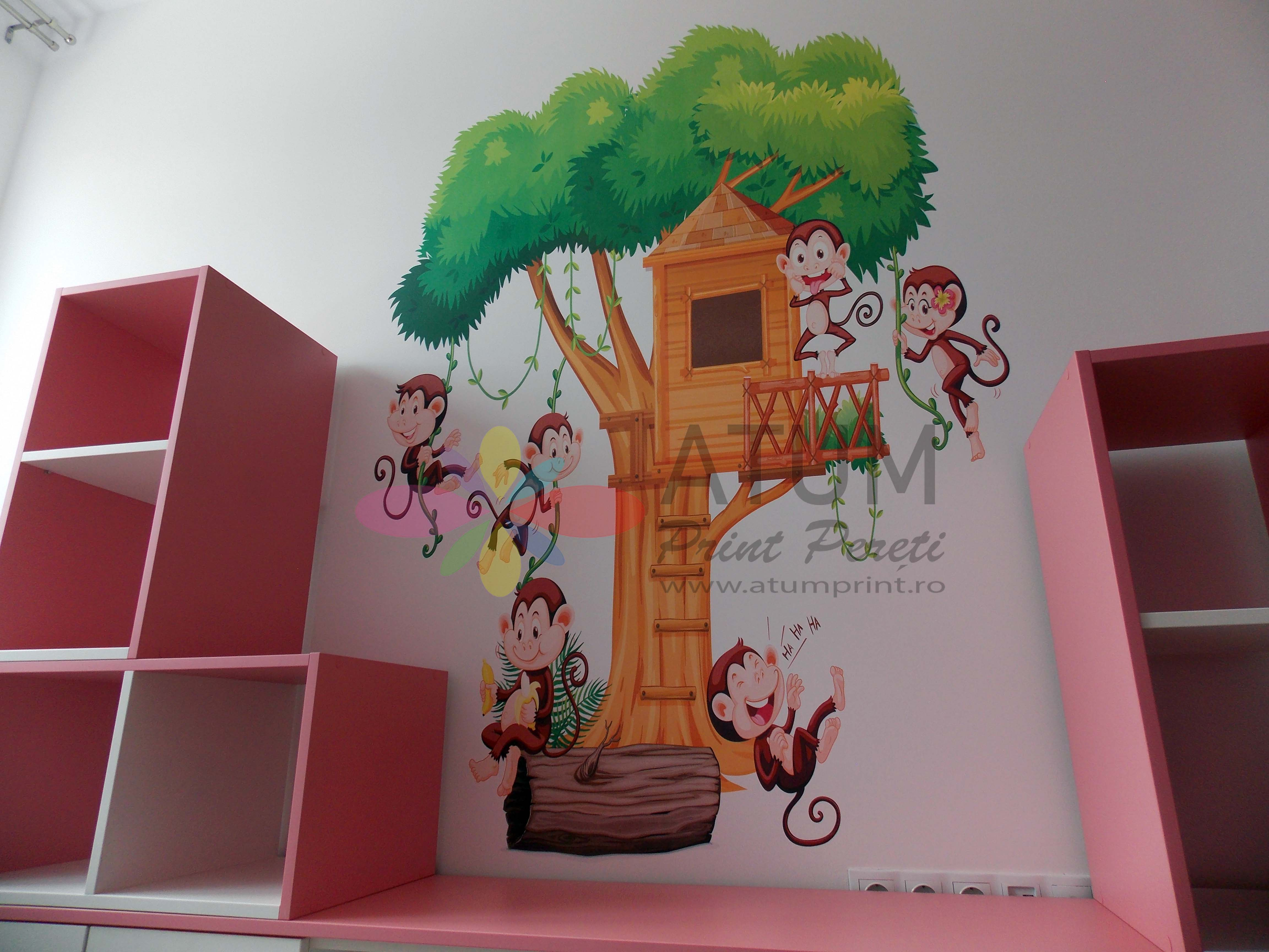 Jungle – imprimare pe perete/ print pereti