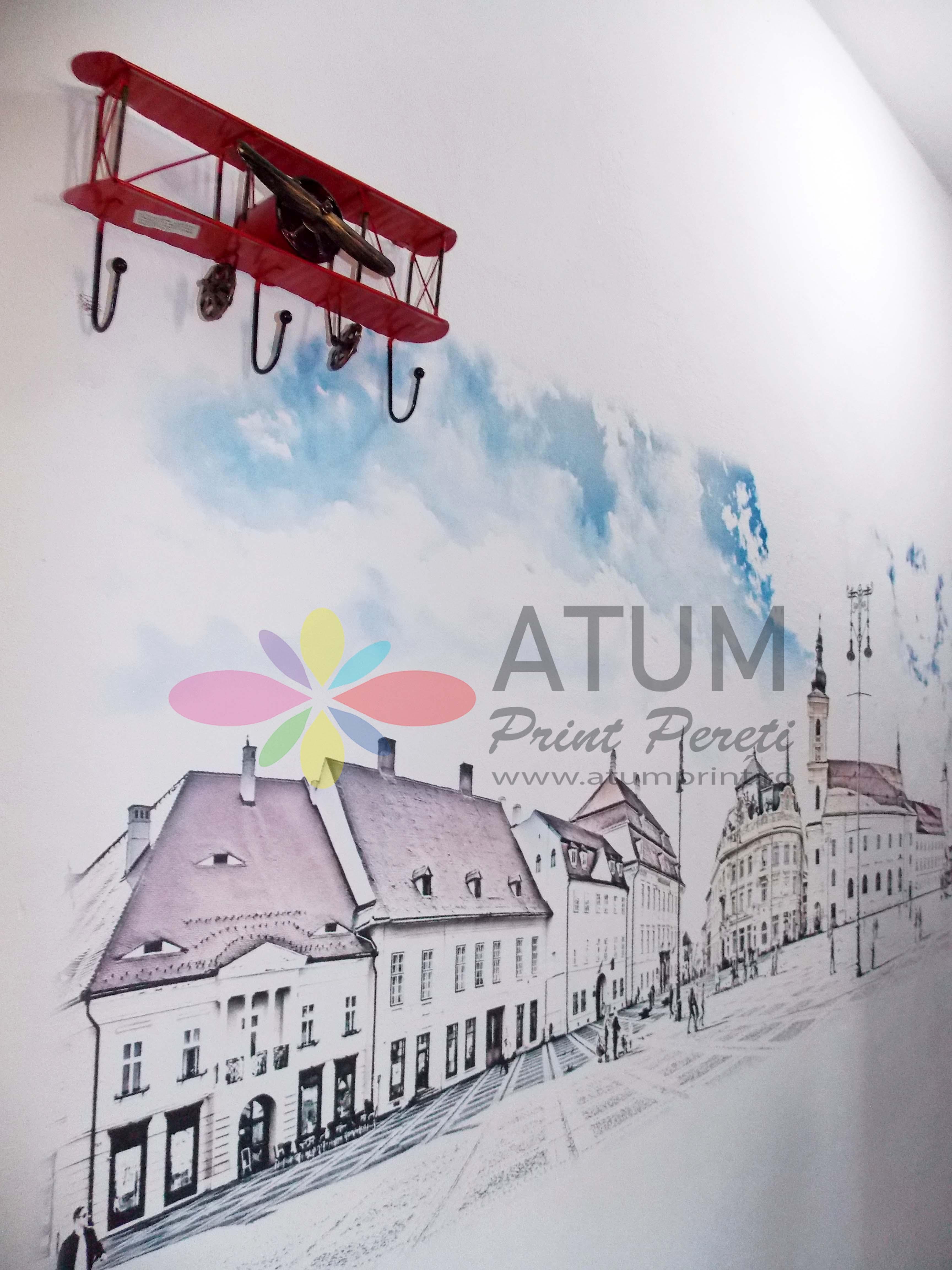 Old Town – imprimare pe perete