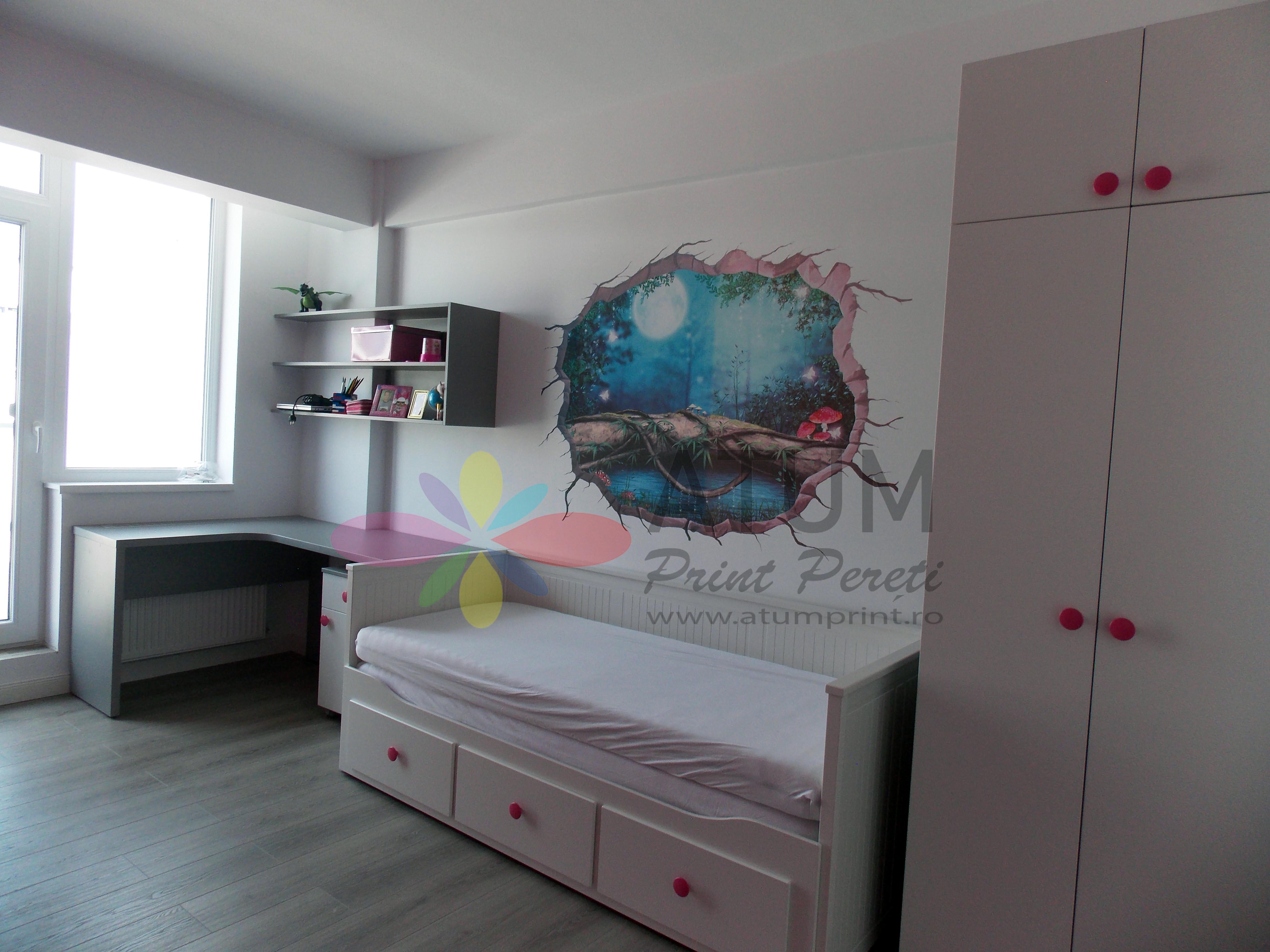 Fairytale – imprimare pe perete
