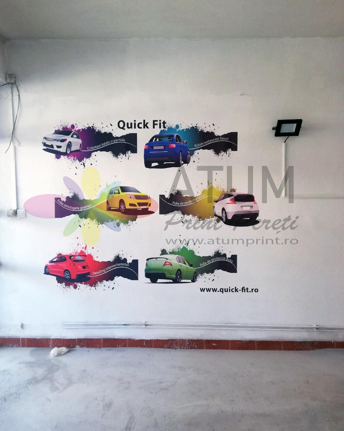 Quick- Fit – imprimare pe perete/ print pereti