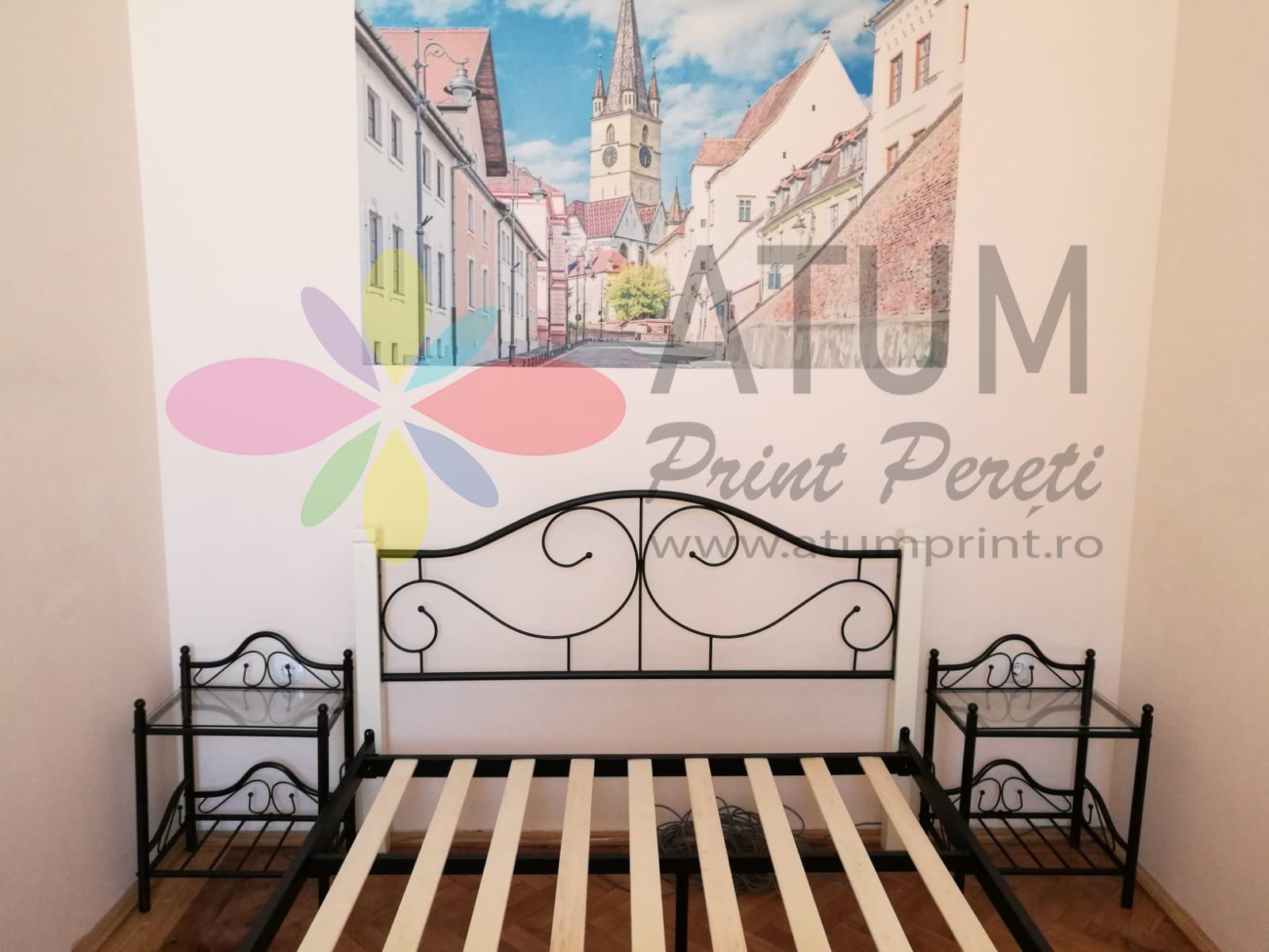Gothic Church Sibiu – imprimare pe perete